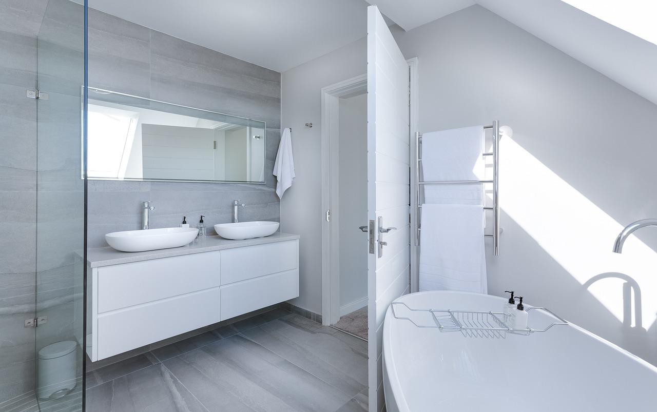 salle d'eau et salle de bain